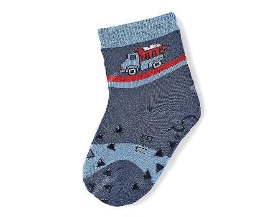 Protiskluzové ponožky Sterntaler - LKW nachtblau