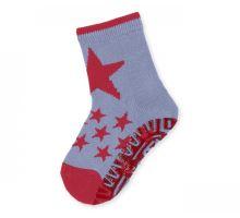 Protiskluzové ponožky Sterntaler - Sterne eisblau (29–34)