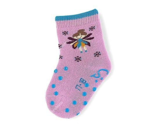 Protiskluzové ponožky Sterntaler - Elfe malve