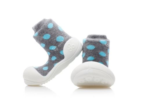 Attipas Polka Dot Grey