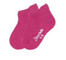 Ponožky Sterntaler kotníkové - Uni Magenta (2 páry)