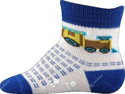 Protiskluzové ponožky Boma modrá