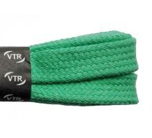 Bavlněné tkaničky ploché - světle zelené