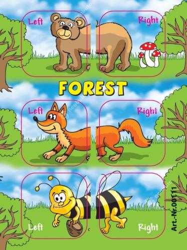 SAamolepky Edushoe - lesní zvířátka